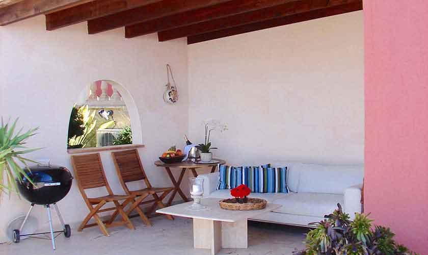 Überdachte Terrasse mit Meerblick Mallorca PM 103 Nr. 72 B