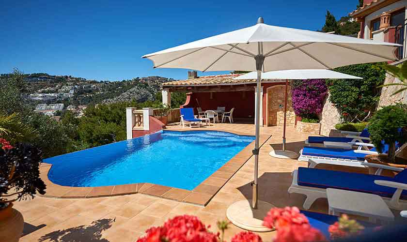 Gemeinsamer Pool Ferienhaus Mallorca PM 103 Nr. 72 B