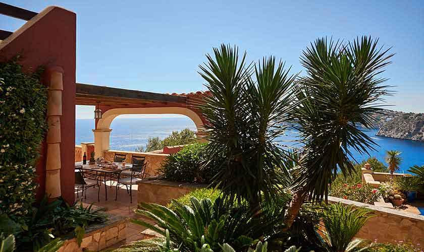 Terrasse Meerblick Ferienhaus Mallorca 4 Personen PM 103 Nr. 72c