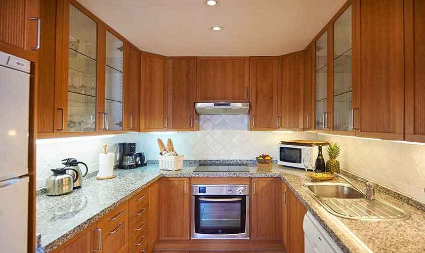 Küche Ferienhaus Mallorca Westküste PM 103 Nr. 72c