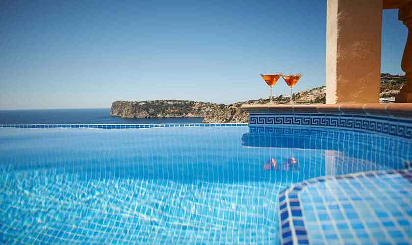 Pool und Meerblick Ferienhaus Mallorca PM 103 Nr. 74C