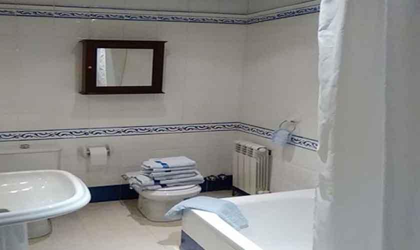 Badezimmer Finca Mallorca 6 Personen PM 120