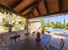 Terrasse Exklusive Poolfinca Mallorca Südwesten für 6 Personen PM 120