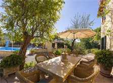 Terrasse 2 Exklusive Poolfinca Mallorca Südwesten für 6 Personen PM 120