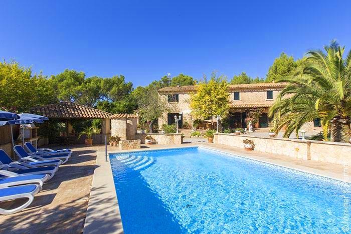Pool und Finca Mallorca Südwesten für 6 Personen PM 120
