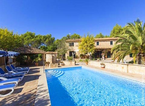 Pool und Exklusive Finca Mallorca 6 Personen PM 120 Südwesten