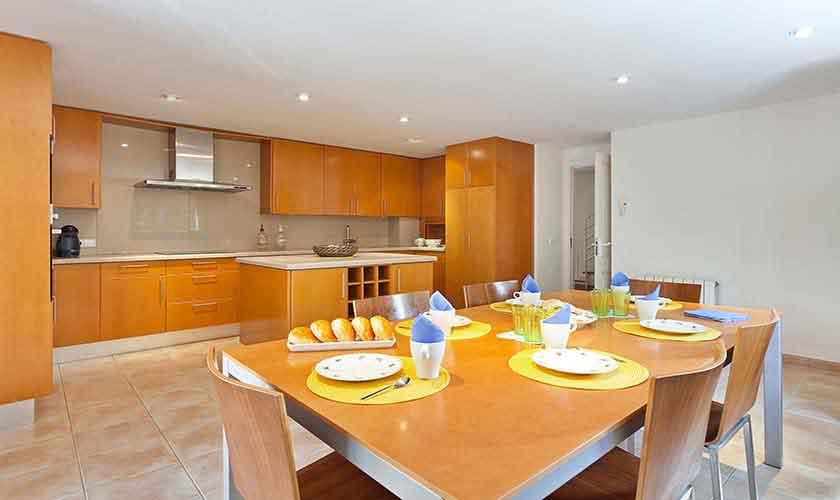 Küche Ferienvilla Mallorca 6 Personen PM 140