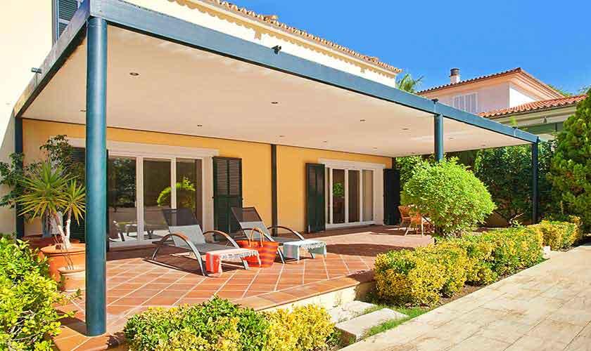 Terrasse Ferienhaus Mallorca 6 Personen PM 140