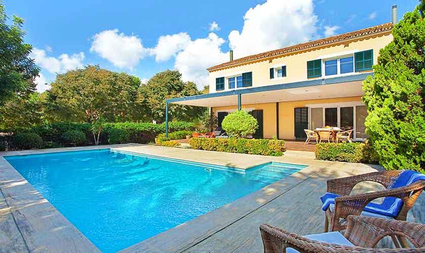Pool und Ferienhaus Mallorca 6 Personen PM 140