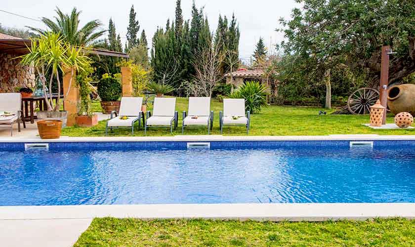 Poolblick Finca Mallorca 4-5 Personen PM 145