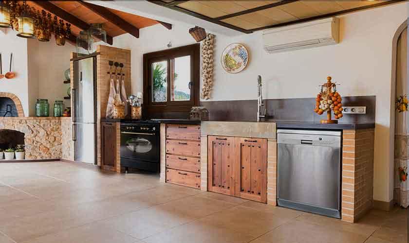 Küche Finca Mallorca 4-5 Personen PM 145