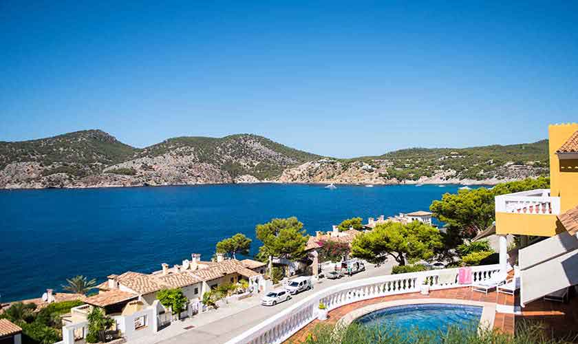 Blick von der Ferienvilla Mallorca Südwesten PM 150