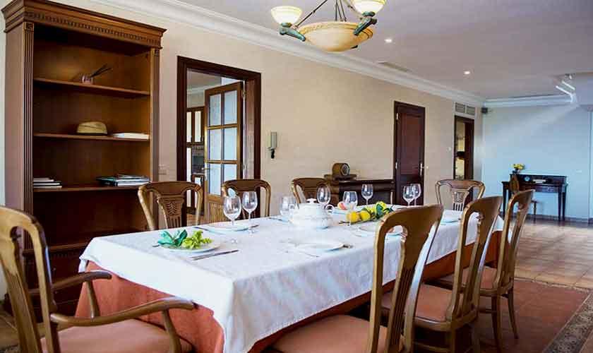 Esstisch Ferienhaus Mallorca Südwesten PM 150