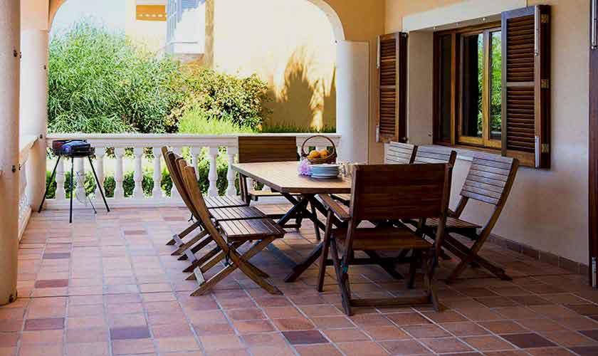 Terrasse Villa Mallorca Südwesten PM 150