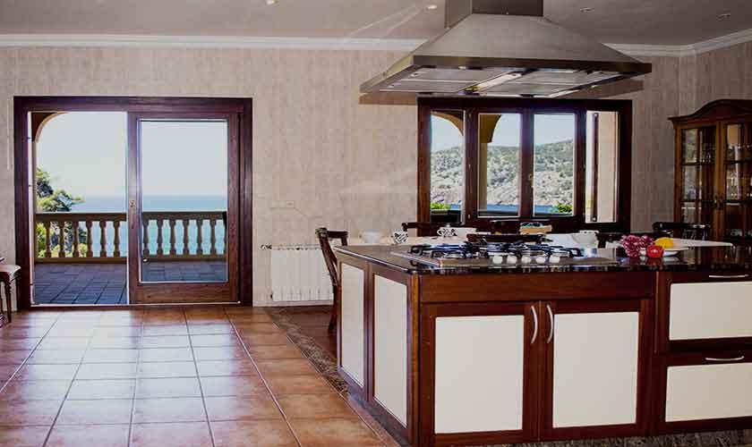 Küche Ferienhaus Mallorca Südwesten PM 150