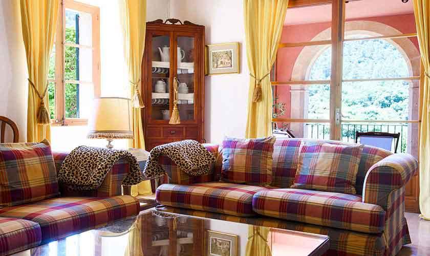 Wohnraum Finca Mallorca Westen PM 280