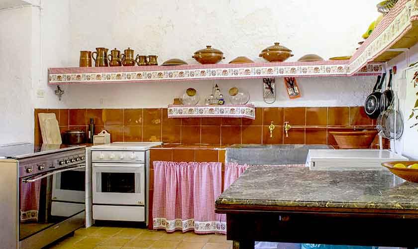 Küche Finca Mallorca Westen PM 280
