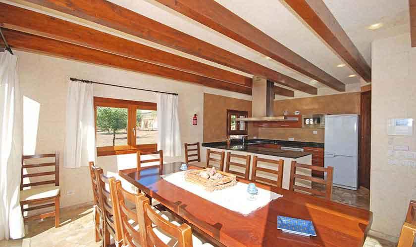 Küche Ferienvilla Mallorca PM 3024