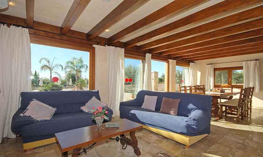 Wohnraum Ferienvilla Mallorca PM 3024