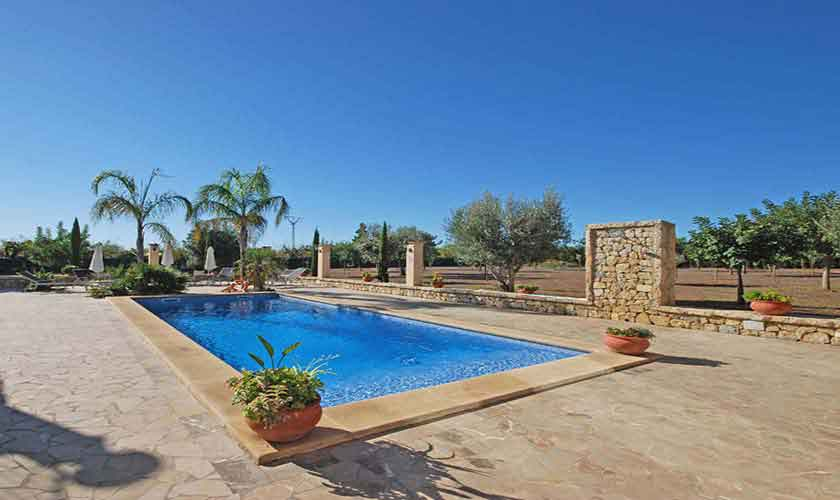 Poolblick Ferienvilla Mallorca PM 3024