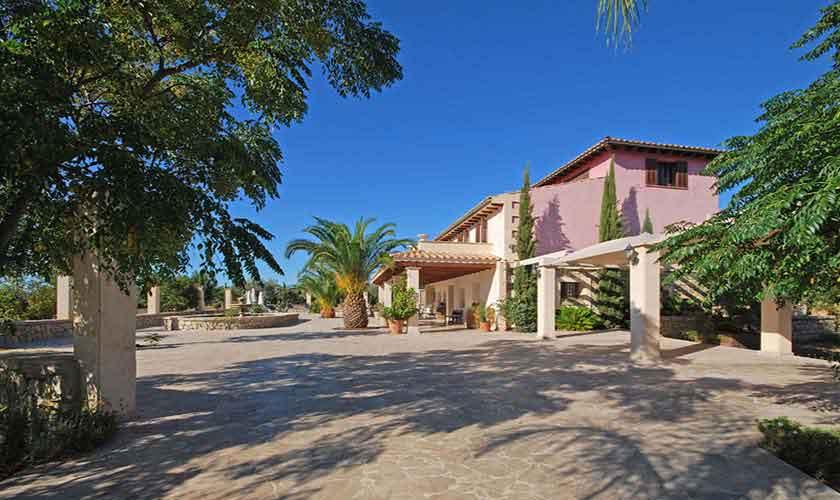 Blick auf die Ferienvilla Mallorca PM 3024