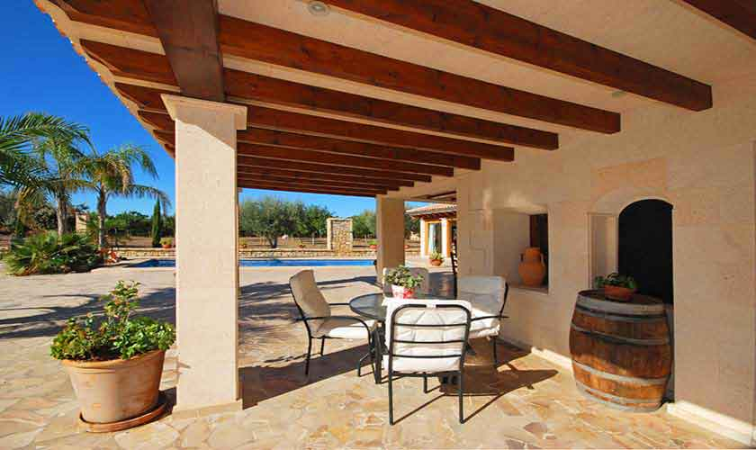 Terrasse Ferienvilla Mallorca PM 3024
