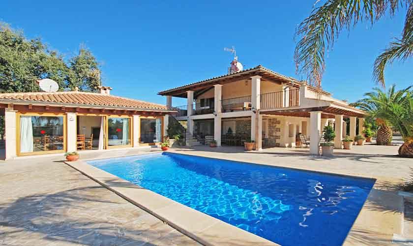 Pool und Ferienvilla Mallorca PM 3024