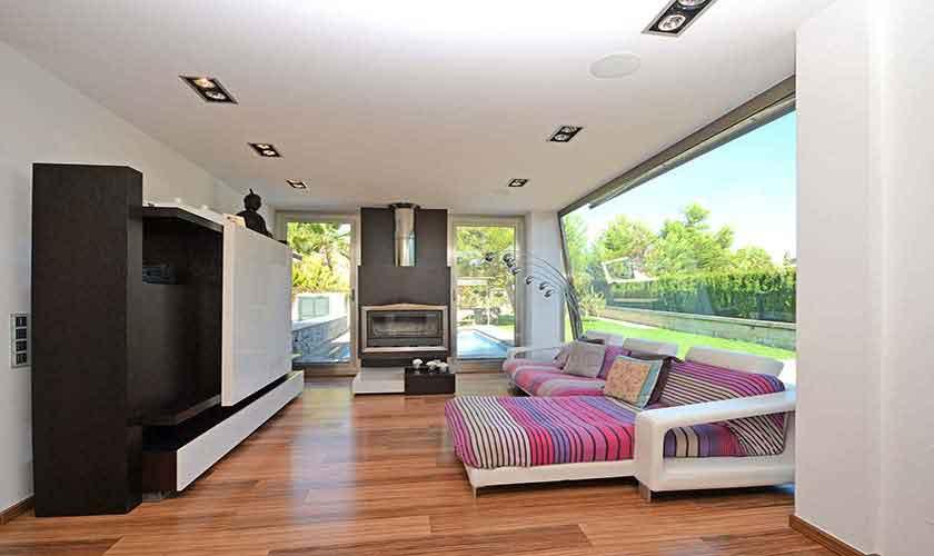 Wohnraum Modernes Ferienhaus Mallorca PM 3027