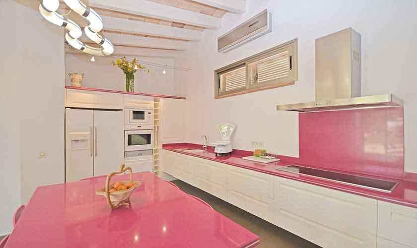 Küche Modernes Ferienhaus Mallorca PM 3027