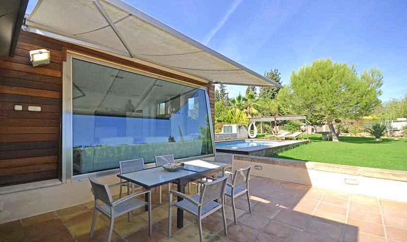 Terrasse Ferienhaus Mallorca PM 3027