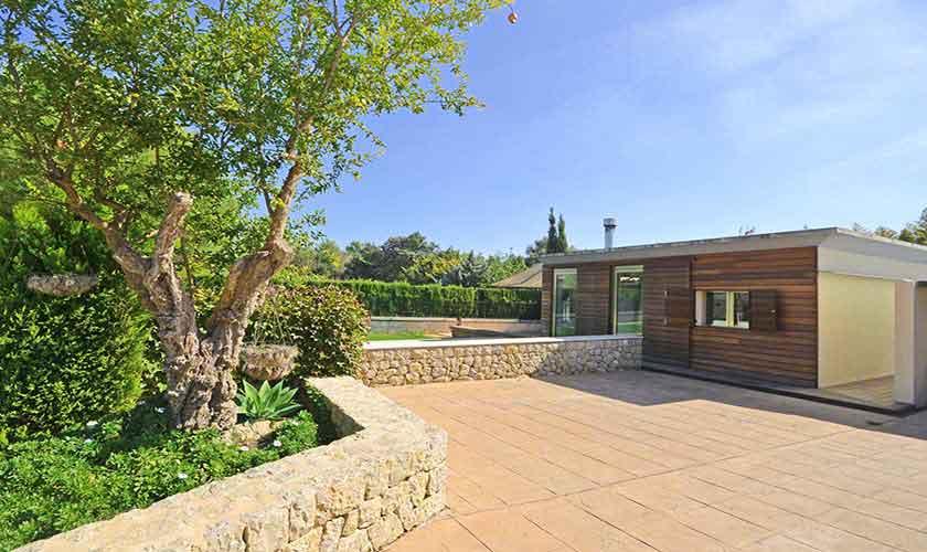 Blick auf das Ferienhaus Mallorca PM 3027