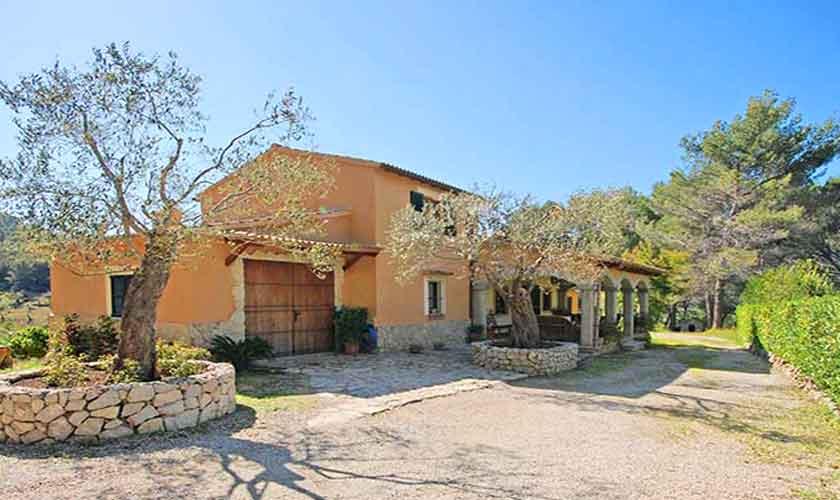 Blick auf das Ferienhaus Mallorca 6 Personen PM 3125
