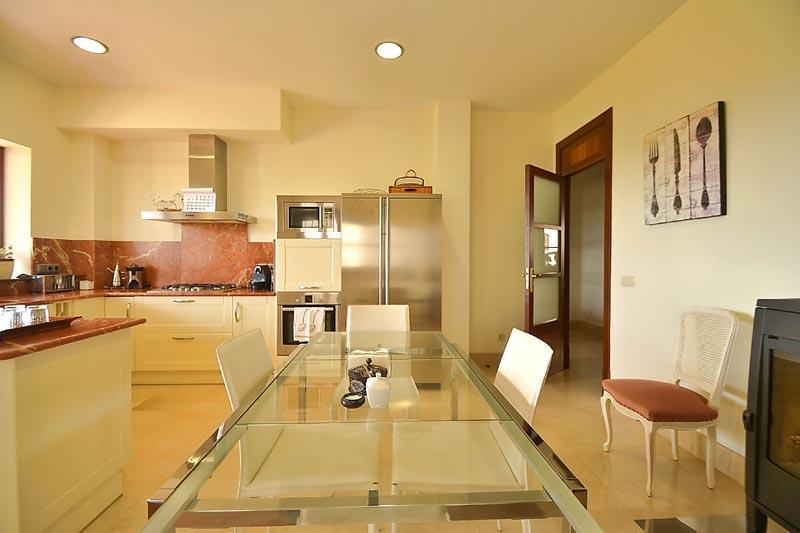 Küche Finca Mallorca mit Pool PM 3135 für 6 Personen in Caimari