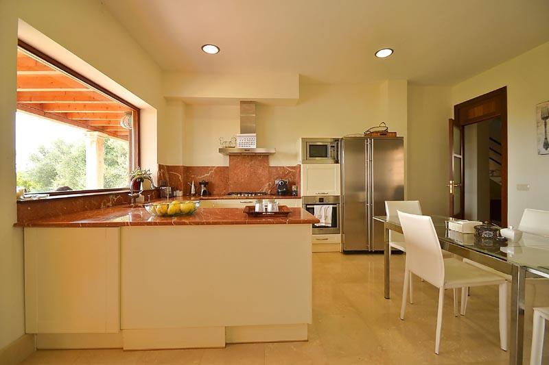 Küche 2 Finca Mallorca mit Pool PM 3135 für 6 Personen in Caimari