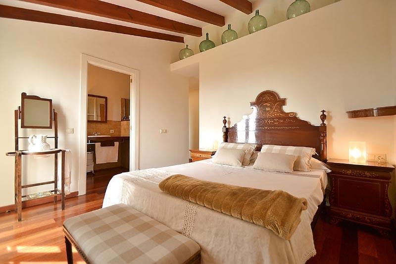 Schlafzimmer Finca Mallorca mit Pool PM 3135 für 6 Personen in Caimari