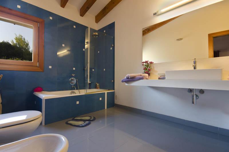 Badezimmer Villa Mallorca Pollensa PM 3315