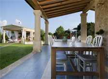 Terrasse Ferienvilla Mallorca Pollensa PM 3315