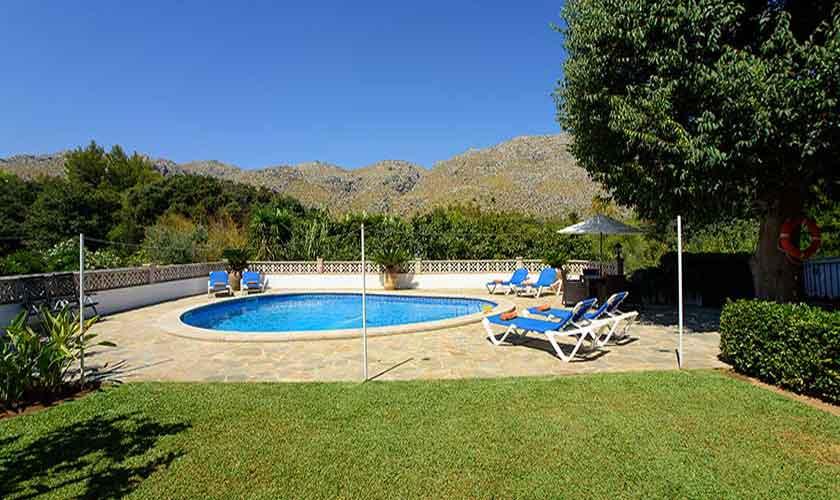 Poolblick Ferienfinca Mallorca 6 Personen PM 3401