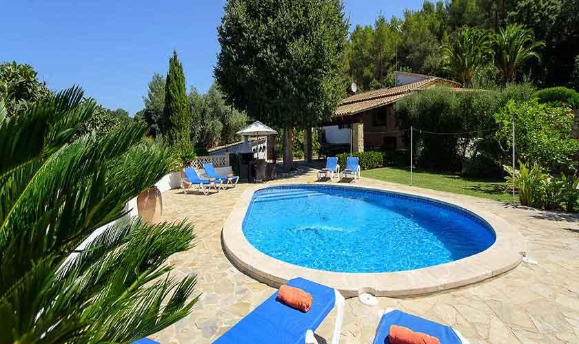 Poolblick Finca Mallorca 6 Personen PM 3401