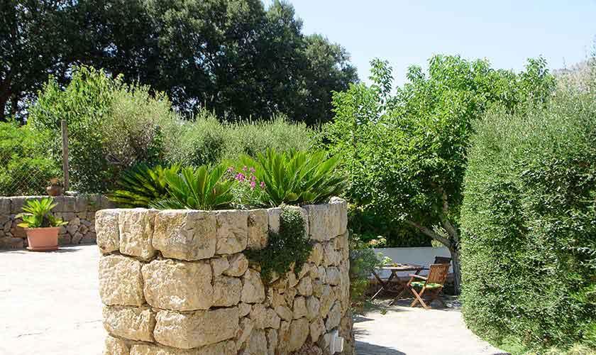 Garten Ferienhaus Mallorca 6 Personen PM 3401