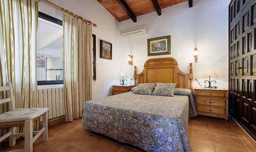 Schlafzimmer Ferienhaus Mallorca 6 Personen PM 3401