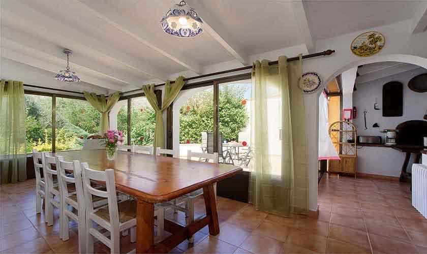 Esstisch Ferienhaus Mallorca 6 Personen PM 3401
