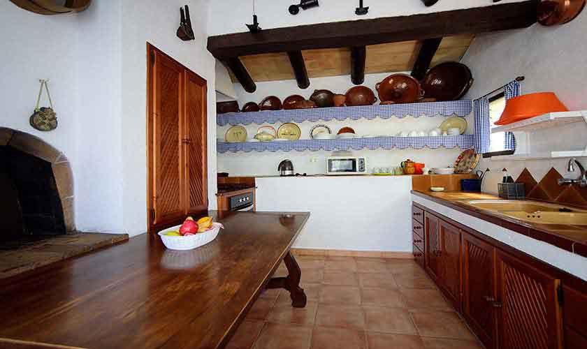Küche Ferienfinca Mallorca 6 Personen PM 3401