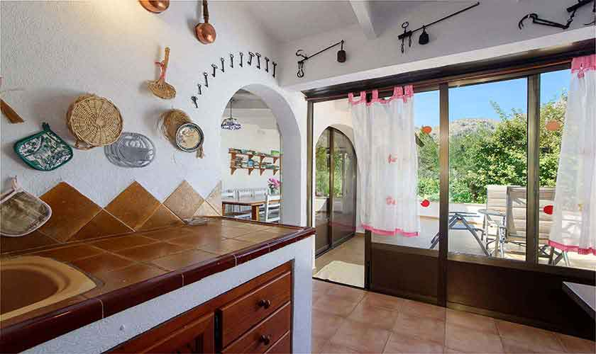 Küche Ferienhaus Mallorca 6 Personen PM 3401