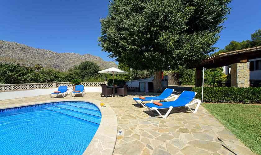 Pool und Ferienhaus Mallorca 6 Personen PM 3401