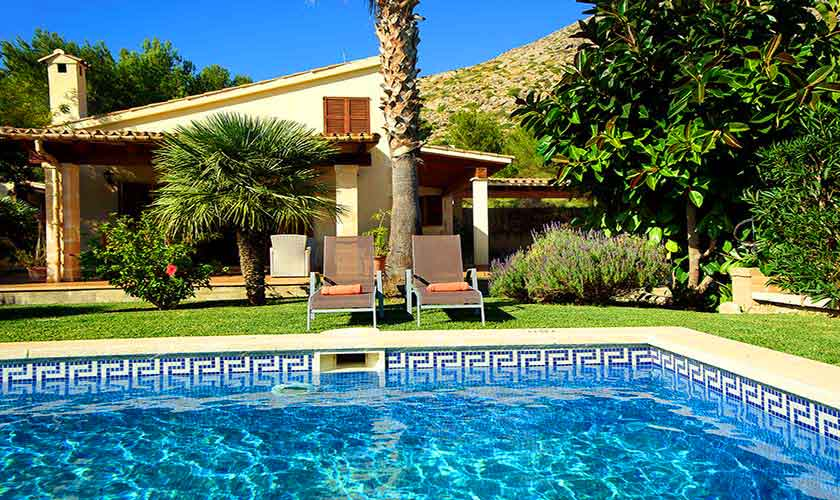 Pool und Ferienhaus Mallorca Norden PM 3402