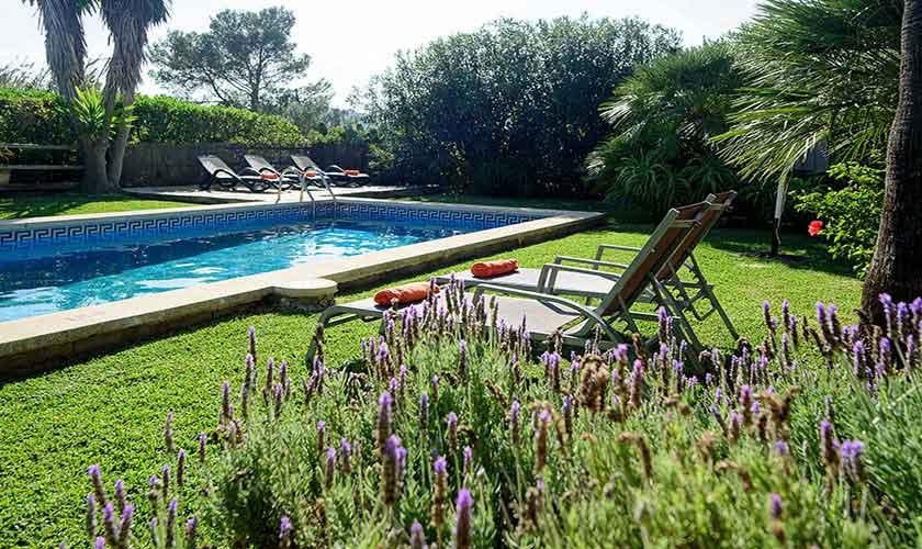 Poolblick Finca Mallorca Nordküste PM 3402