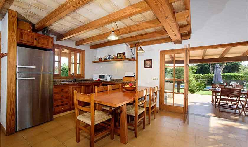 Küche Finca Mallorca Nordküste PM 3402