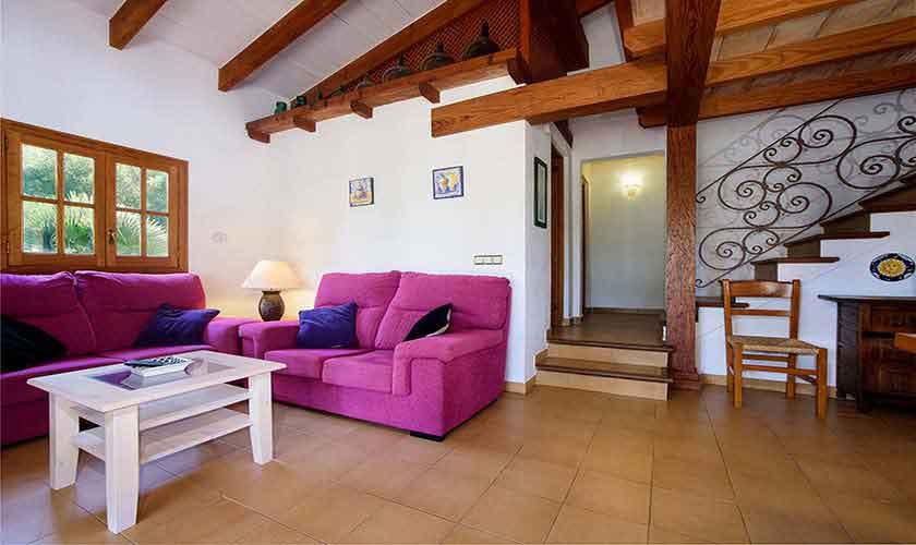 Wohnraum Finca Mallorca Nordküste PM 3402