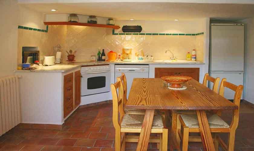 Küche Finca Mallorca 6 Personen PM 3405